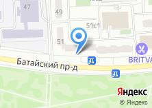 Компания «LADIES» на карте