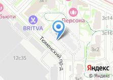Компания «Автостоянка на Тюменском проезде» на карте