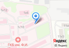 Компания «Городская клиническая больница №36» на карте
