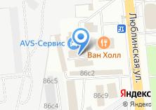 Компания «Shinbox.ru» на карте