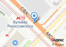 Компания «Автомойка на Открытом шоссе» на карте