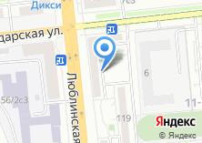Компания «Люкс» на карте