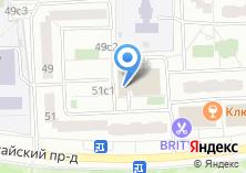 Компания «ДЕЗ района Марьино» на карте