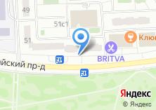 Компания «DentBerg» на карте
