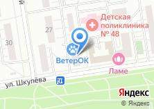 Компания «01 сервис» на карте