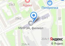Компания «Диагностика-М» на карте