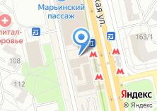 Компания «Марьинский пекарь» на карте
