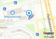 Компания «Марьинский» на карте