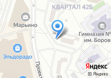 Компания «Искрателеком» на карте