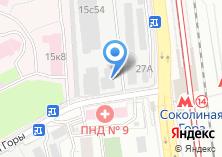 Компания «Комиссионная мебель» на карте
