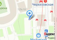Компания «Пончики и блинчики» на карте