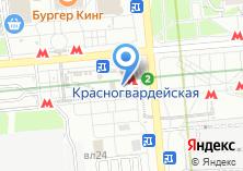 Компания «Магазин женского белья на Ореховом бульваре» на карте