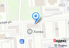 Компания «Энирида» на карте