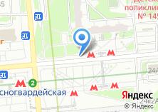 Компания «Магазин цветов на Ореховом бульваре» на карте