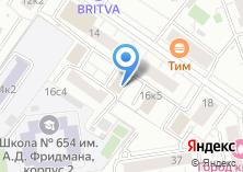 Компания «Антанта Логистик» на карте