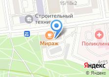 Компания «Промстройпроект» на карте