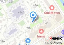 Компания «ПЕНТАдизайн-М» на карте