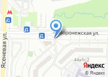 Компания «Продуктовый магазин на Воронежской» на карте