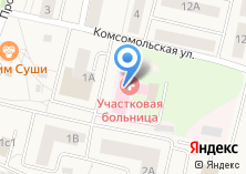 Компания «Пироговская участковая больница» на карте