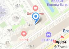 Компания «13%» на карте