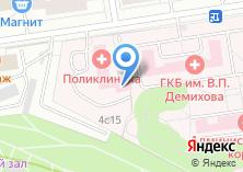 Компания «Городская клиническая больница №68» на карте