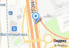 Компания «Автостоянка на Щёлковском шоссе» на карте