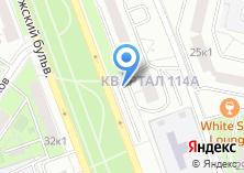 Компания «Автостоянка на ул. Волжский бульвар квартал 114А» на карте