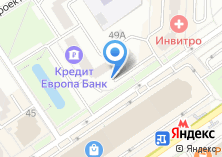 Компания «Комларк» на карте