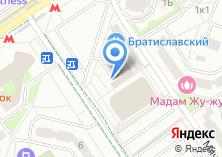 Компания «Братиславская» на карте