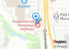 Компания «УфаДорМаш» на карте