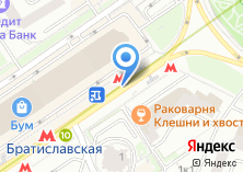 Компания «Станция Братиславская» на карте