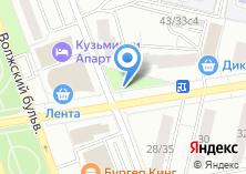 Компания «Магазин продуктов на Волжском бульваре» на карте