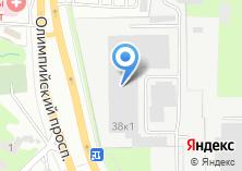 Компания «Рост-электро» на карте