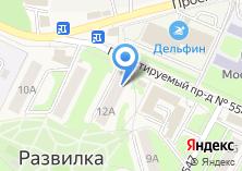 Компания «Алмир» на карте
