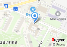 Компания «Газпром телеком» на карте