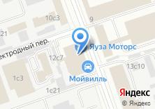 Компания «Автошкола на Электородной» на карте