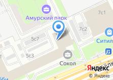 Компания «Шестая степень» на карте