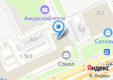Компания «3D Лига» на карте