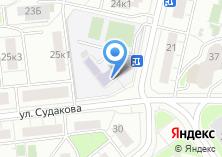 Компания «Лицей №1524» на карте