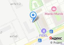 Компания «S7 Airlines» на карте