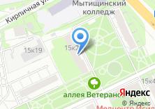 Компания «ТФОМС МО Территориальный фонд обязательного медицинского страхования Московской области» на карте