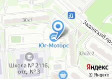 Компания «Автомойка на Задонском проезде» на карте
