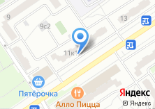 Компания «Телемастерская» на карте