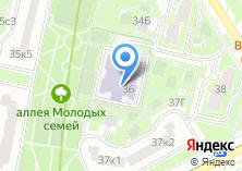 Компания «Средняя общеобразовательная школа №1986» на карте
