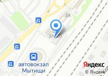 Компания «Автостоянка на Шараповском проезде» на карте