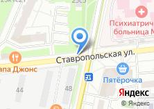 Компания «Магазин цветов на Ставропольской» на карте