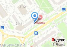 Компания «Ремонтная мастерская на Новомарьинской» на карте