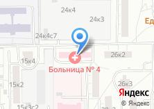 Компания «Центральная клиническая больница №4» на карте