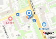 Компания «ТВ-Домодедово» на карте
