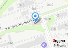 Компания «Пункт приема цветного металла на Перова Поля 2-м проезде» на карте